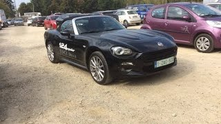 2016 Fiat 124 Spider Test Drive and sound check !