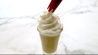 Make Alcohol Infused Whipped Cream