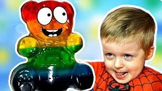 Разноцветный Желейный Медведь DIY Видео для Детей ЖЕЛЕЙНЫЙ Медведь ВАЛЕРА  Lion boy