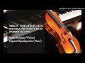 Mikis Theodorakis - Sonatina For Violin & Piano  01. Sonatina number 1 (Vivo)