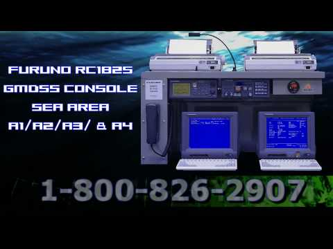 Furuno RC1825 GMDSS Console for Marine Communication