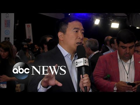Andrew Yang joins ABC News Live to discuss debate performance l ABC News