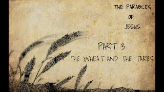 The Parables of Jesus Bible Study Part 3- The Wheat and the Tares