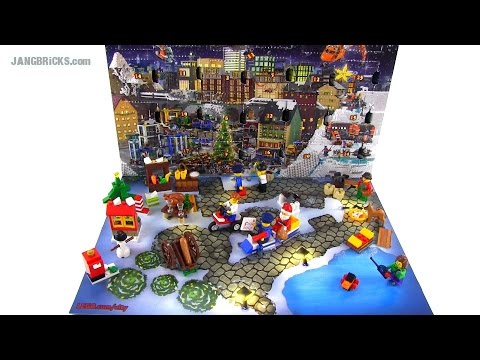 LEGO City 2014 Advent Calendar opened & reviewed! - YouTube