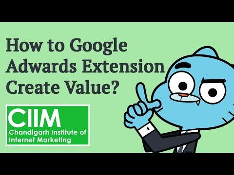 How Google Adwords extensions create value?