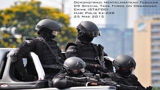 Hari Polis Ke-208 - Demonstrasi Stafoc Menyelamatkan Tebusan