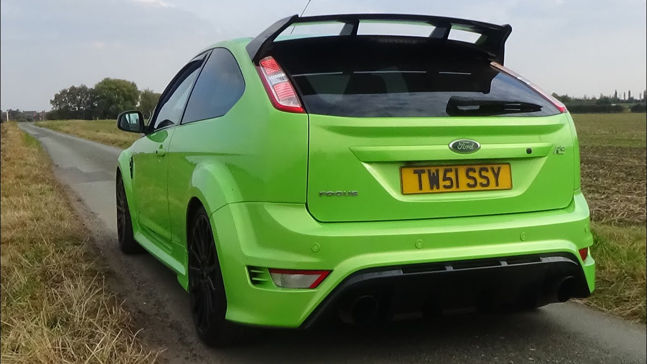 the ultimate ford focus rs exhaust sound compilation