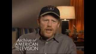 "Ron Howard on ""Richie Cunningham"" and ""Fonzie"" from Happy Days - EMMYTVLEGENDS.ORG"