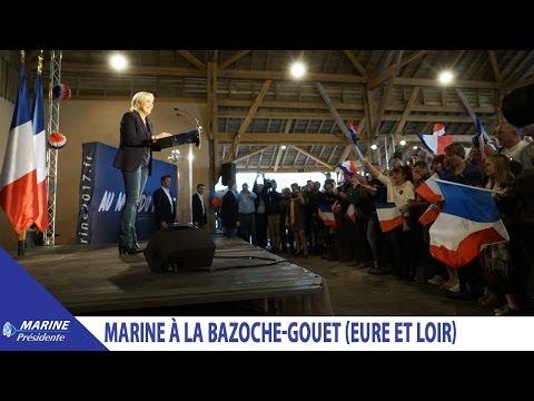 Réunion publique de Marine à La Bazoche-Gouet (Eure-et-Loir) (03/04/2017) I Marine 2017