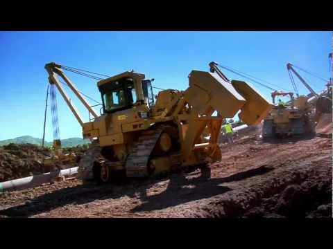 Cat® PL83 & PL87 Pipelayers | Slope Capability & Lifting Capacity