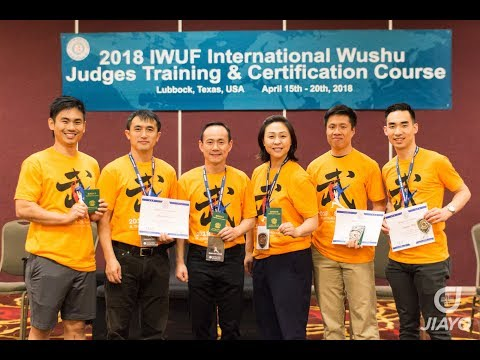 2018 International Wushu Judges Training and New Competition Rules