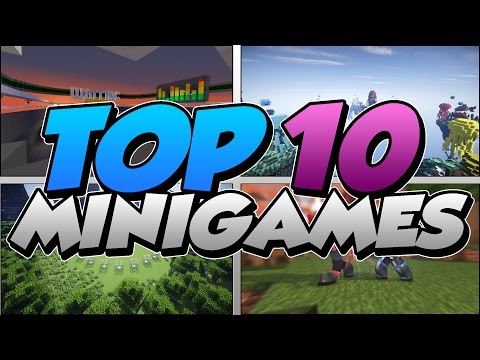 TOP 10 MINECRAFT MINIGAMES FOR 1.10 (1.9 & 1.10)