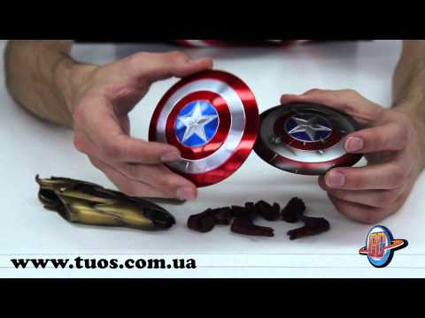 Капитан Америка - Мстители\Captain America - Avenger 1:6 Hot Toys