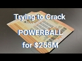 Powerball 2/8/17 Group Play All In for $255M - Good Luck to us!!
