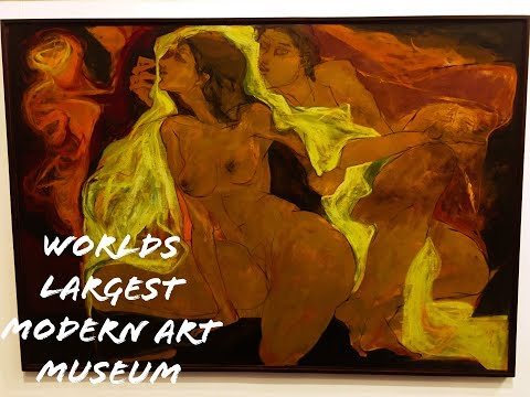 Worlds Largest modern art Museum ! National Gallery Of Modern Arts Delhi