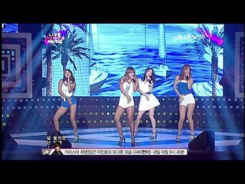 [1080p] 씨스타 - Loving U (120909 Live Power Music)