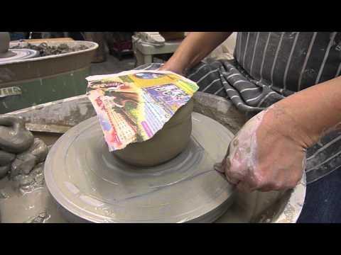 Newspaper trick - Clay Craft Malaysia