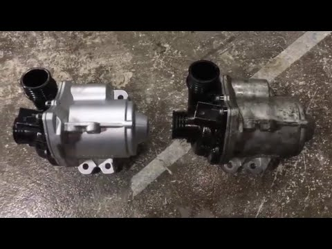 Diy Bmw Electric Water Pump Replacement N55 X1 335i 535i