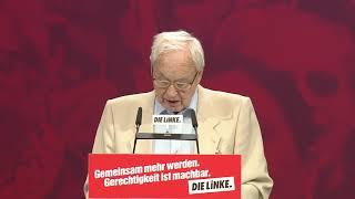 Leipzig: Rede von Hans Modrow, Vorsitzender des Ältestenrates DIE LINKE