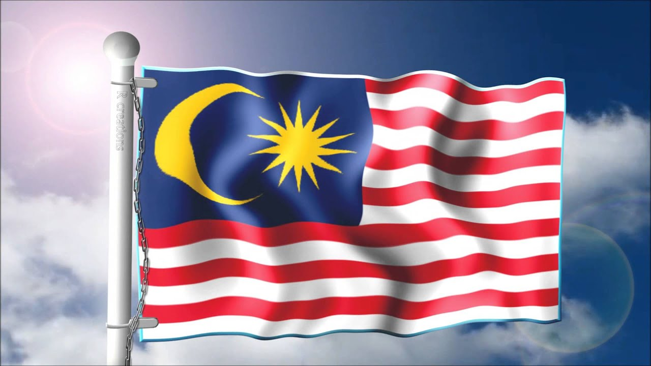 The flag of Malaysia a.k.a Jalur Gemilang - YouTube