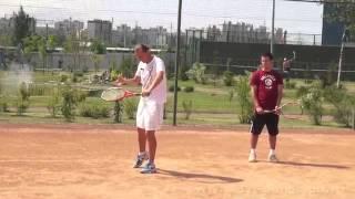 Уроки большого тенниса  Укороченный удар