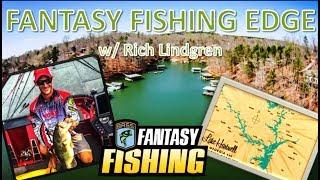 FANTASY FISHING EDGE #15 Bassmaster Hartwell Elite Series Fantasy Fishing Picks Show  Podcast