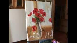 Уроки живописи для начинающих, видеоуроки для начинающих