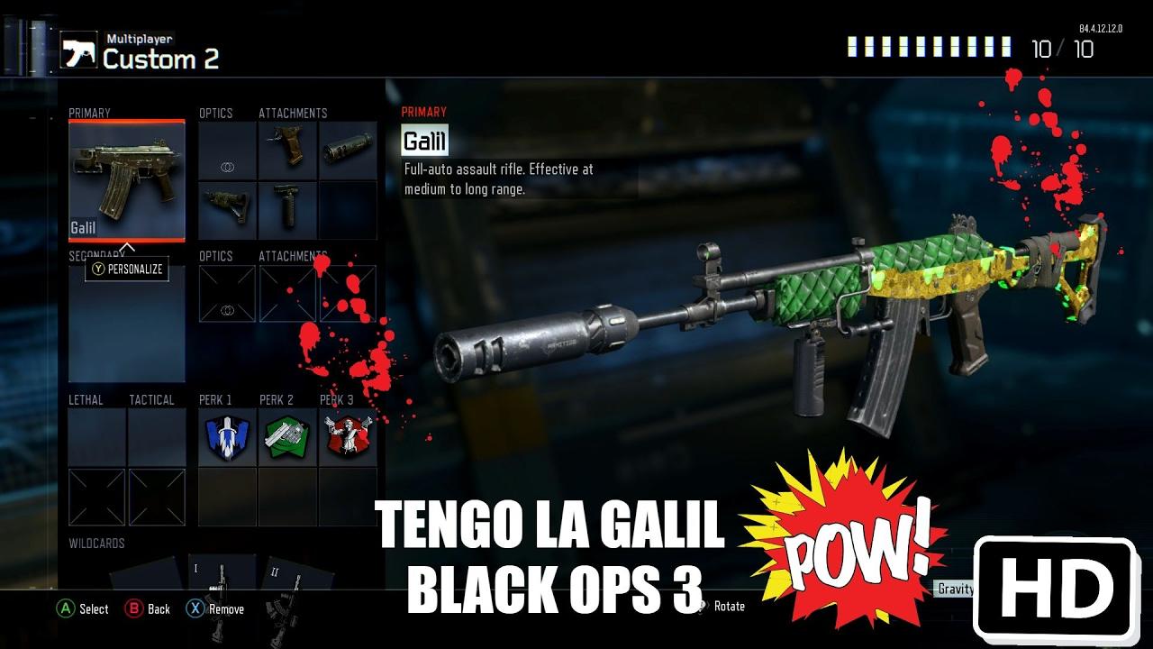 161me toca la galil de black ops 3 youtube
