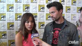 Comic-Con 2014: Agents of S.H.I.E.L.D. – Brett Dalton and Chloe Bennet Interview Thumbnail