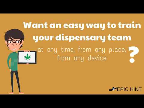 Improve Dispensary Employee Performance with Cannabis Training Software by EpicHint