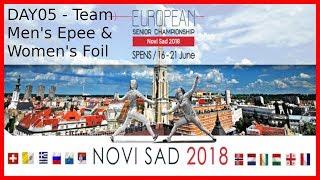 European Championships 2018 Novi Sad Day05 - Piste 5 thumbnail