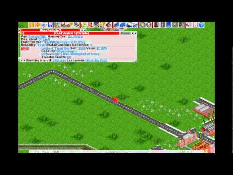 Let's Play OpenTTD ~ Part 28 [We Can Transport Vehicles Now?]