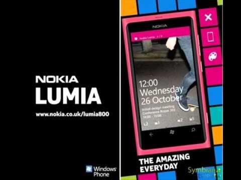 Nokia Lumia 800 music