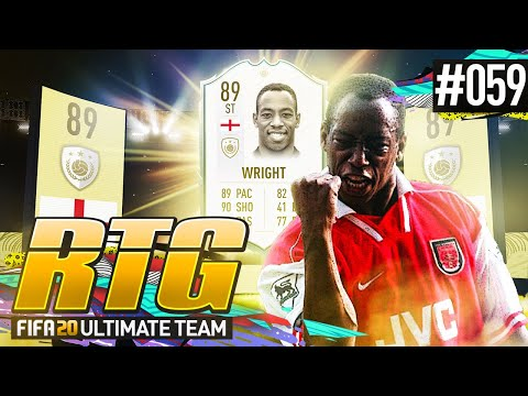 CLAIMING ICON SWAPS IAN WRIGHT! - #FIFA20 Road To Glory! #59 Ultimate Team