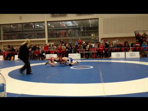 2015 Senior National Championships: 60 kg Cholena Horne vs. Marissa Sorrell