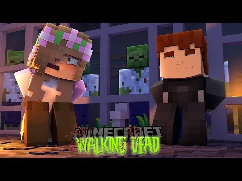 Minecraft THE WALKING DEAD - SCUBA STEVE IS NOW A PRISONER LIKE LITTLE KELLY IN HIS OWN CITY