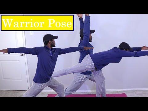 PE at Home: Yoga Warrior Pose