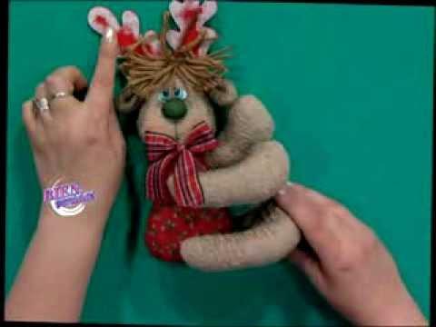 Silvia nieruczkow bienvenidas tv hace un reno en for Manualidades renos navidenos