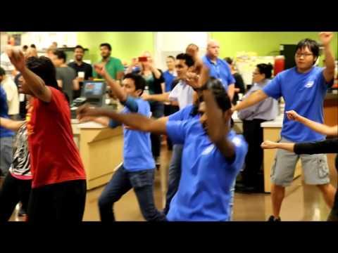 Intel Folsom FlashMob Teaser - Desi Rhythm