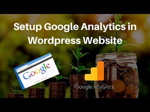 How To Setup Google Analytics & Install On WordPress Website