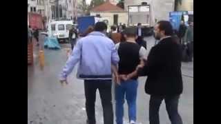 6 Polisin bile zorla ayırdığı kavga