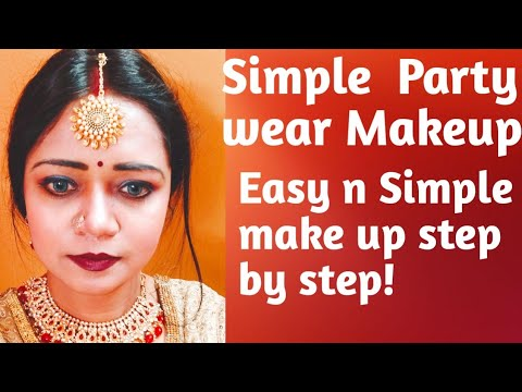 simple makeup for beginners/everyday makeup routine/quick