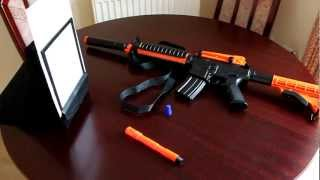 Video BB gun review - American M4 - M4A1 - fully automatic - electric download MP3, 3GP, MP4, WEBM, AVI, FLV Agustus 2018