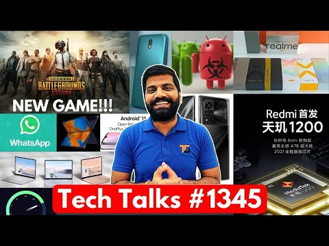 Tech Talks #1345 – PUBG Mobile 2 Game, Redmi Gaming Phone, Mate X2, M62, Realme X9 Pro, Nokia 1.4