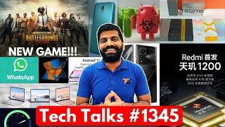 Tech Talks #1345 - PUBG Mobile 2 Game, Redmi Gaming Phone, Mate X2, M62, Realme X9 Pro, Nokia 1.4