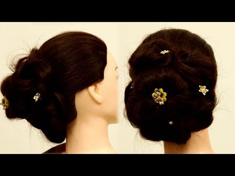 Most Beautiful Hairstyle for Wedding or party | Easy Hairstyles | Latest HairStyles | 9RosesMedia | thumbnail