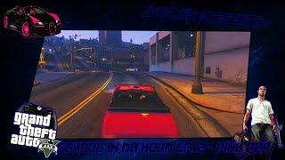 GTA 5 School Life In Da Hood Ep. 2 - Pink Car (GTA 5 PC RP)