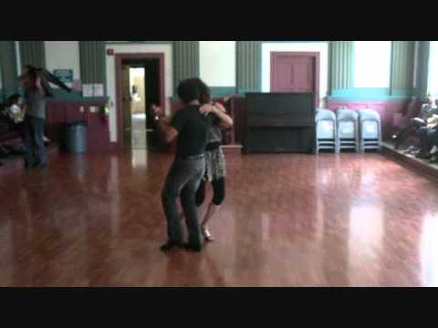 Argentine Tango Dancing with students www.tangonation.com 5/22/2011