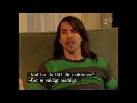 Anthony Kiedis - Interview about his book Scar Tissue (2006)