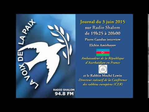 Ambassadeur d'Azerbaïdjan en France sur Radio Shalom
